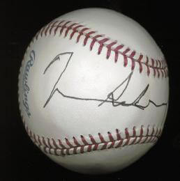 GENERAL H. NORMAN SCHWARZKOPF - AUTOGRAPHED SIGNED BASEBALL CIRCA 1992