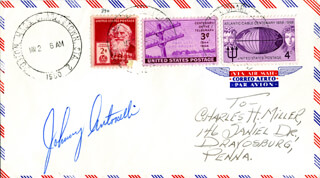 Autographs: JOHN AUGUST ANTONELLI - ENVELOPE SIGNED
