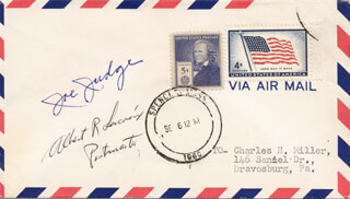 JOE I. JUDGE - ENVELOPE SIGNED CO-SIGNED BY: ALBERT R. LACROIX