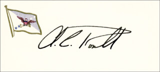 Autographs: GENERAL COLIN L. POWELL - SIGNATURE(S)