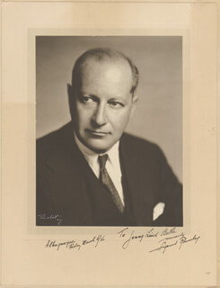 SIGMUND ROMBERG - INSCRIBED PHOTOGRAPH MOUNT SIGNED 03/06/1936