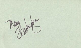 MARY STEENBURGEN - AUTOGRAPH