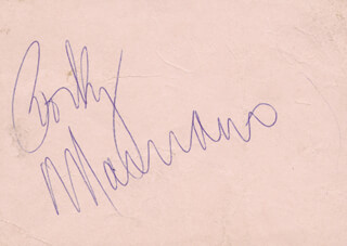 ROCKY MARCIANO - AUTOGRAPH