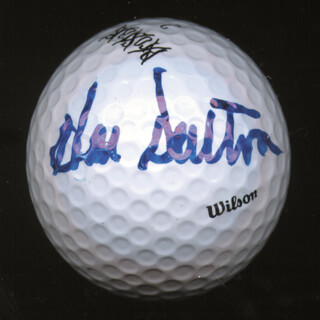 Autographs: HAL E. SUTTON - GOLF BALL SIGNED