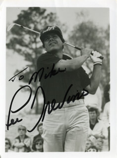 LEE TREVINO - AUTOGRAPHED INSCRIBED PHOTOGRAPH