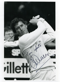MANUEL PINERO - AUTOGRAPHED SIGNED PHOTOGRAPH