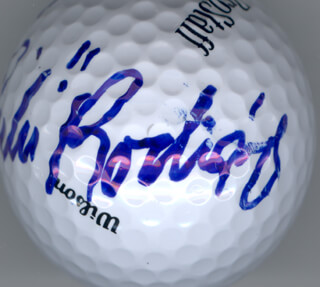 Autographs: CHI CHI (JUAN) RODRIGUEZ - GOLF BALL SIGNED