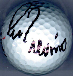 LEE TREVINO - GOLF BALL SIGNED