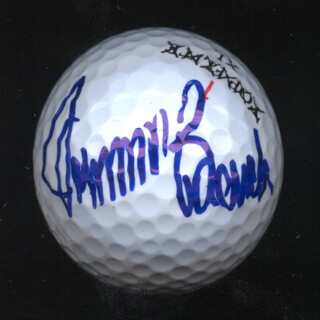 JOHNNY BENCH - GOLF BALL SIGNED