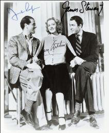 MR. SMITH GOES TO WASHINGTON MOVIE CAST - AUTOGRAPHED SIGNED PHOTOGRAPH CO-SIGNED BY: JEAN ARTHUR, JAMES JIMMY STEWART, FRANK CAPRA