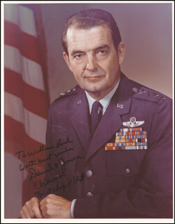 GENERAL DAVID C. JONES - AUTOGRAPHED INSCRIBED PHOTOGRAPH