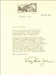 FIRST LADY LADY BIRD JOHNSON - TYPED LETTER SIGNED 11/08/1983