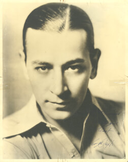 GEORGE RAFT - AUTOGRAPHED INSCRIBED PHOTOGRAPH