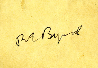 Autographs: REAR ADMIRAL RICHARD E. BYRD - SIGNATURE(S)