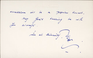 PETER CUSHING - AUTOGRAPH LETTER SIGNED 03/12/1973