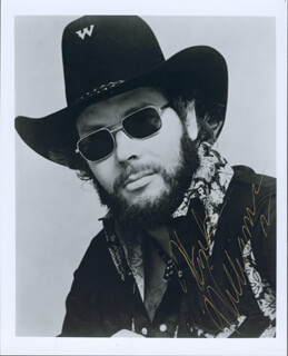 HANK WILLIAMS JR. - AUTOGRAPHED SIGNED PHOTOGRAPH