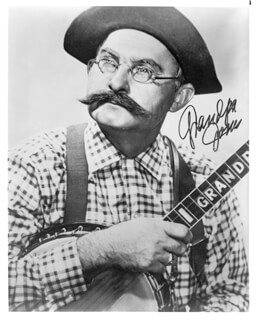 GRANDPA (LOUIS MARSHALL) JONES - AUTOGRAPHED SIGNED PHOTOGRAPH