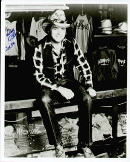 MICKEY GILLEY - AUTOGRAPHED SIGNED PHOTOGRAPH 02/1992