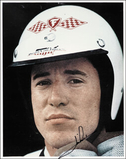 Autographs: MARIO ANDRETTI - PHOTOGRAPH SIGNED