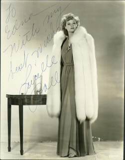 LUCILLE LUCY BALL - AUTOGRAPHED INSCRIBED PHOTOGRAPH CIRCA 1940