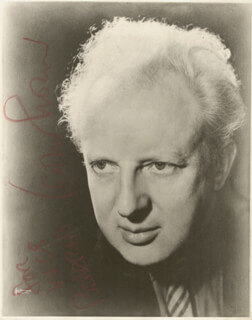 LEOPOLD STOKOWSKI - AUTOGRAPHED INSCRIBED PHOTOGRAPH
