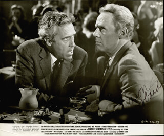 JASON ROBARDS JR. - AUTOGRAPHED SIGNED PHOTOGRAPH