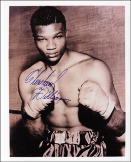 CLEVELAND WILLIAMS - AUTOGRAPHED SIGNED PHOTOGRAPH