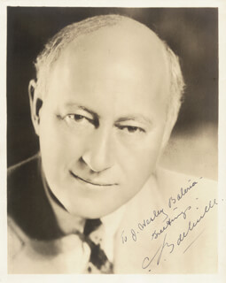 CECIL B. DEMILLE - AUTOGRAPHED INSCRIBED PHOTOGRAPH
