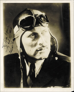 ROSCOE TURNER - AUTOGRAPHED INSCRIBED PHOTOGRAPH