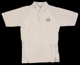 Autographs: PAUL AZINGER - POLO SHIRT SIGNED