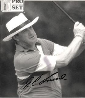 J. C. (JESSE CARLYLE) SNEAD - AUTOGRAPHED SIGNED PHOTOGRAPH