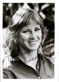 CHRIS EVERT - AUTOGRAPHED INSCRIBED PHOTOGRAPH