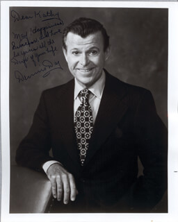 DENNIS DAY - AUTOGRAPHED INSCRIBED PHOTOGRAPH