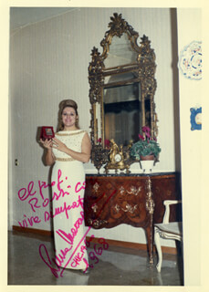 LUISA MARAGLIANO - AUTOGRAPHED INSCRIBED PHOTOGRAPH 1968