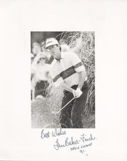 Autographs: IAN BAKER-FINCH - PHOTOGRAPH SIGNED