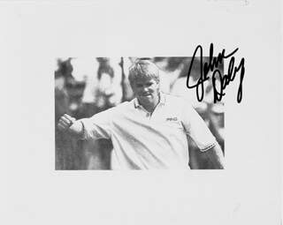 JOHN DALY - AUTOGRAPHED SIGNED PHOTOGRAPH