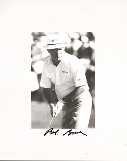 BOB BRUE - AUTOGRAPHED INSCRIBED PHOTOGRAPH
