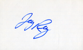 WILLIAM JAY RAY - AUTOGRAPH
