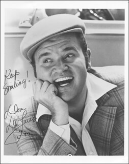 DOM DELUISE - AUTOGRAPHED SIGNED PHOTOGRAPH 1982