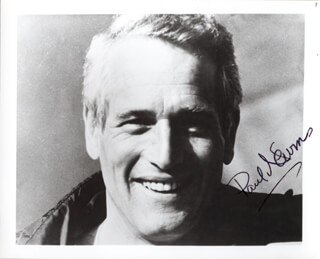 PAUL NEWMAN - AUTOGRAPHED SIGNED PHOTOGRAPH