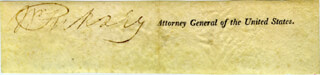 Autographs: WILLIAM PINKNEY - CLIPPED SIGNATURE