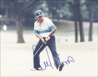 LEE TREVINO - AUTOGRAPHED SIGNED PHOTOGRAPH