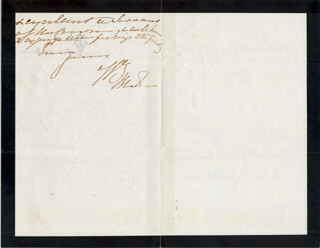 QUEEN VICTORIA (GREAT BRITAIN) - AUTOGRAPH LETTER SIGNED 02/05/1880