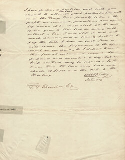 WILLIAM A. BRADLEY - AUTOGRAPH LETTER SIGNED
