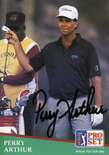 Autographs: PERRY ARTHUR - TRADING/SPORTS CARD SIGNED