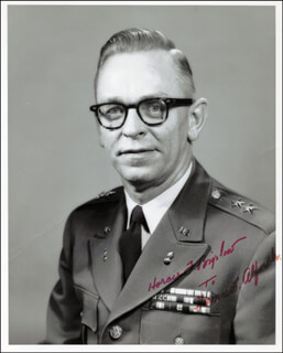 GENERAL HORACE F. BIGELOW - AUTOGRAPHED SIGNED PHOTOGRAPH