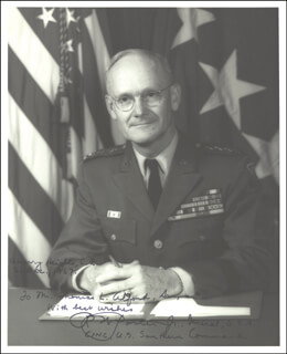 GENERAL ROBERT W. PORTER JR. - AUTOGRAPHED SIGNED PHOTOGRAPH 12/21/1967