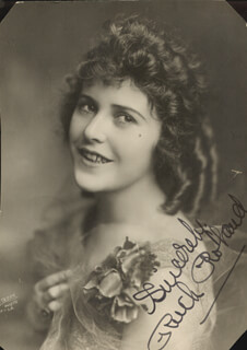 RUTH ROLAND - AUTOGRAPHED SIGNED PHOTOGRAPH