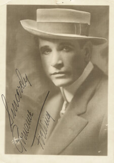 ROMAINE FIELDING - AUTOGRAPHED SIGNED PHOTOGRAPH