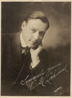 HAROLD LOCKWOOD - AUTOGRAPHED SIGNED PHOTOGRAPH